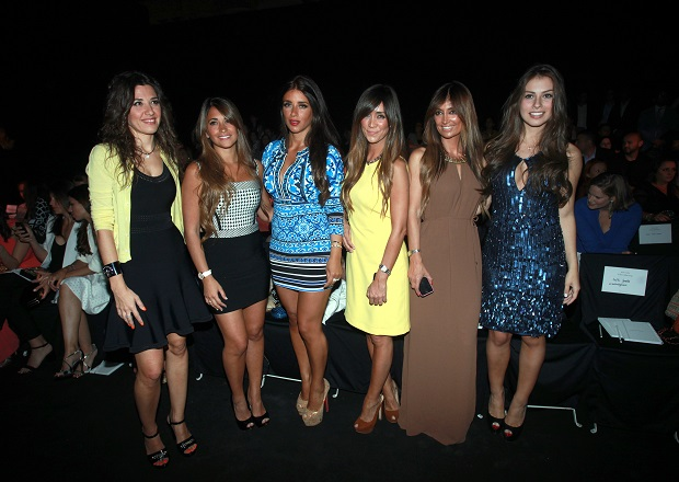 Nuria Cunillera, Antonella Rocuzzo,  Daniella Semaan,  Marta y Elena González y Gabriella Lenzi