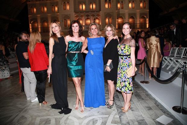 Verónica Blume , Susana Gallardo ,Rosa Tous ,Fiona Ferrer