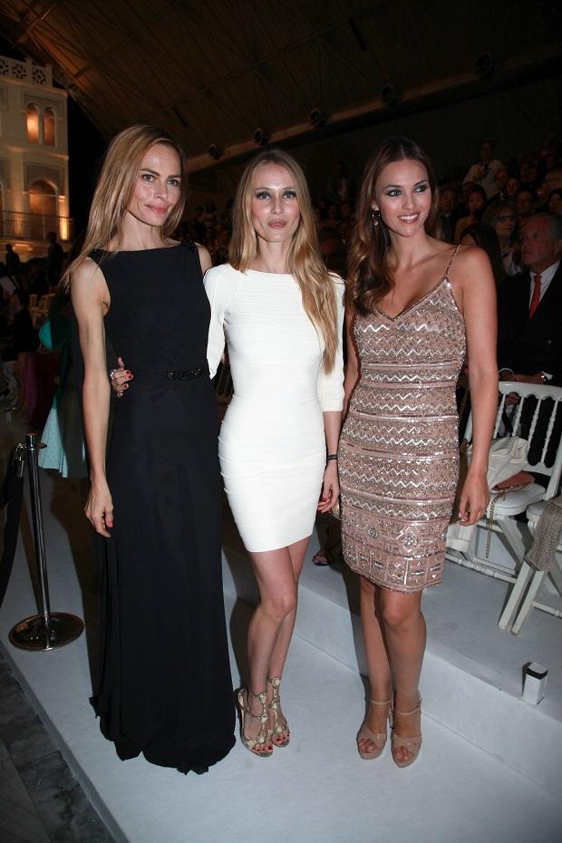 Veronica Blume, Vanessa Lorenzo y Helen Lindes