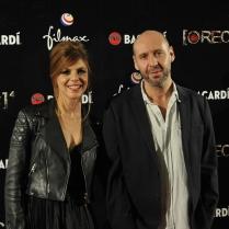 Manuela Velasco y Jaume Balagueró