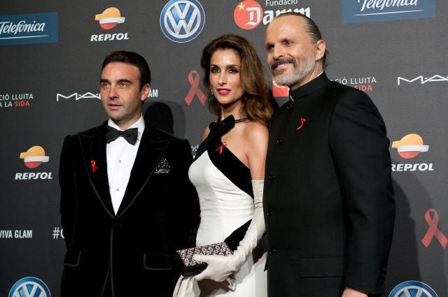 Enrique Ponce, Paloma Cuevas, Miguel Bosé