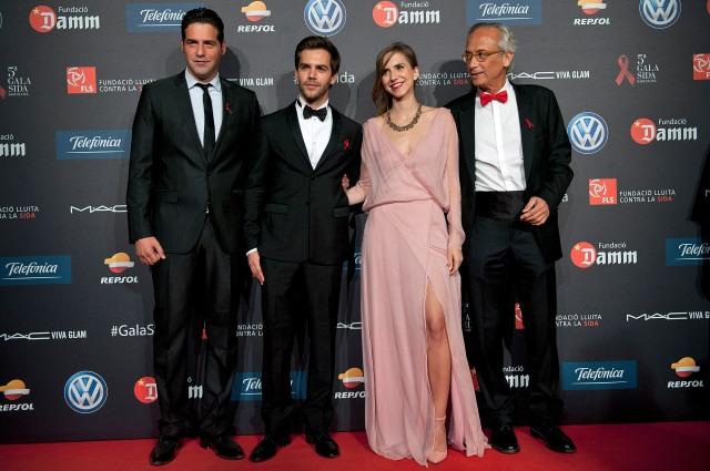 Juan Garcia Postigo, Marc Clotet, Aina Clotet, Dr. Clotet