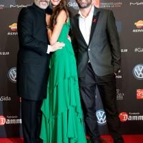 Miguel Bosé, Laura Sánchez, David Ascanio