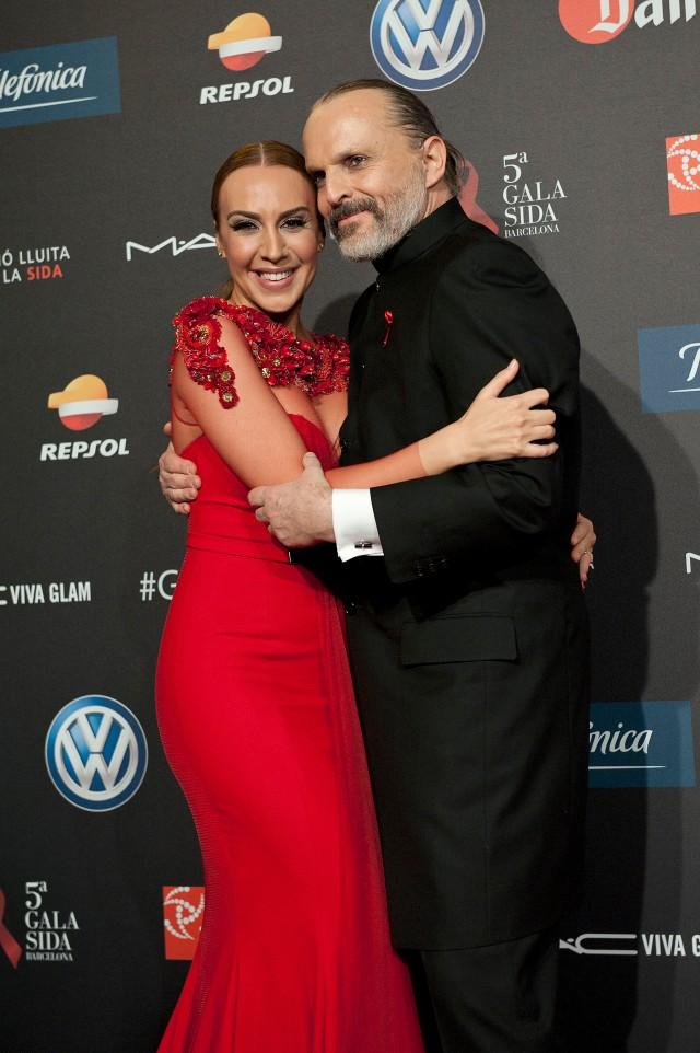 Monica Naranjo, Miguel Bosé