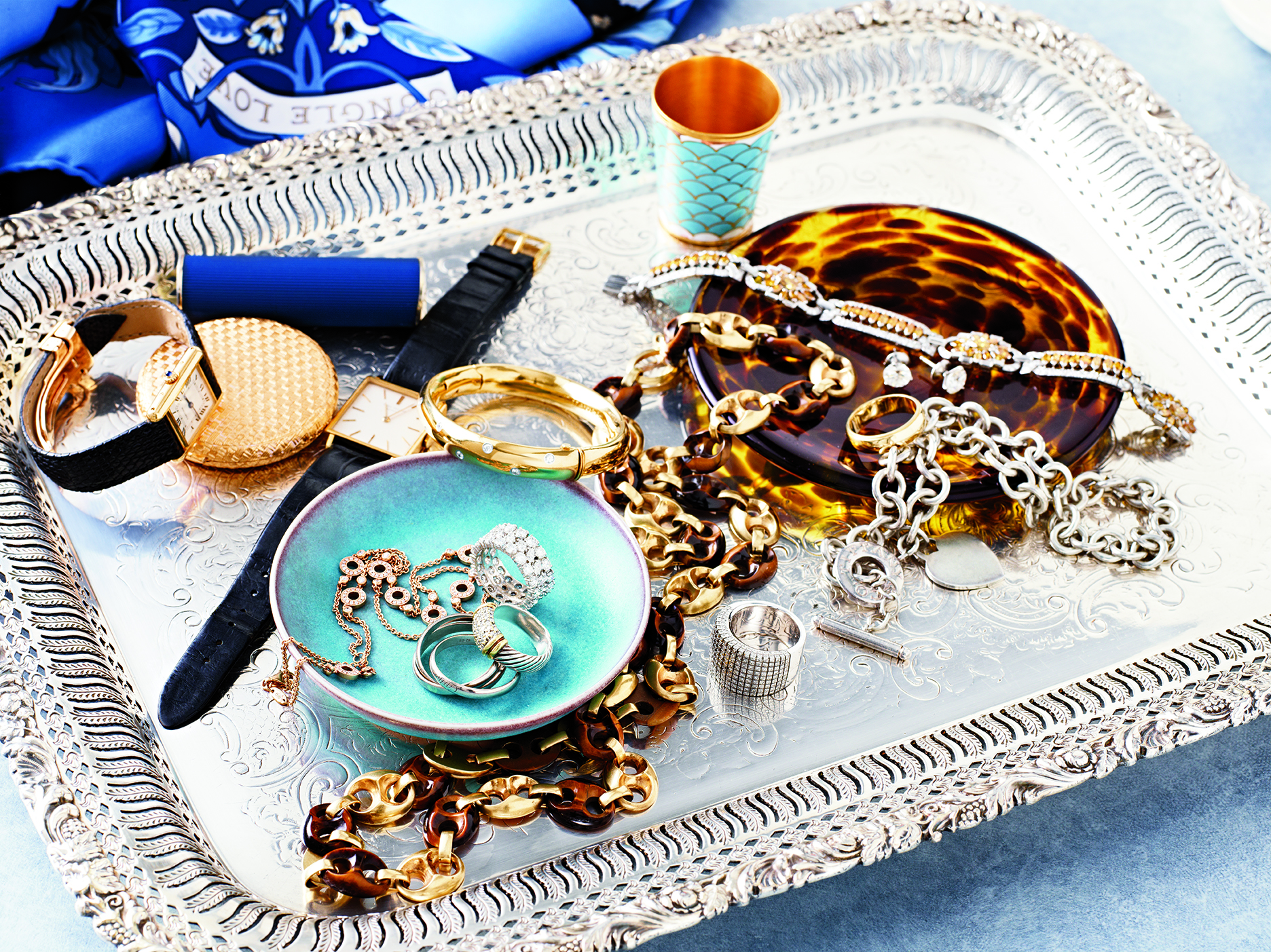 Transitional Couple Jewelry Detail