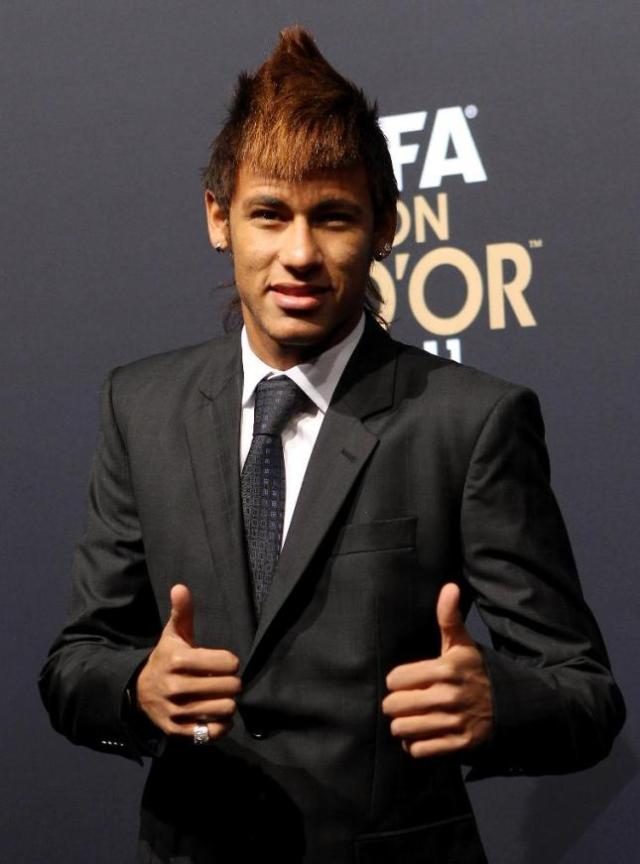 Neymar-Hairstyles-Ballon-D-Or-2011