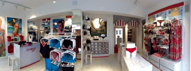 Yamamay Beach Ibiza_interior tienda