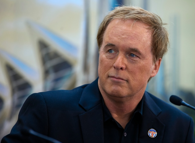 VALENCIA, SPAIN - MAY 19:  Brad Bird attends at the 'Tomorrowland' Press Conference at the L'Hemisferic on May 19, 2015 in Valencia, Spain.  (Photo by Manuel Queimadelos Alonso/Getty Images) *** Local Caption *** Brad Bird
