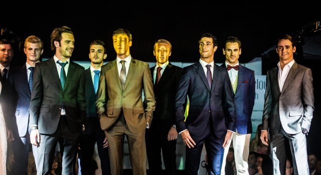 F1 Drivers on the Runway