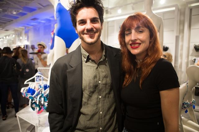 Oysho Barcelona - Ernesto Artillo y Anastasia Bengoechea