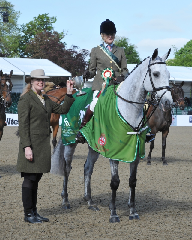 Windsor Horse Show Friday 15.05.15 RoR Cl. winner No. 523 RESTER VRAI  ridden by  Katie Dashwood for owner Katie Dashwood