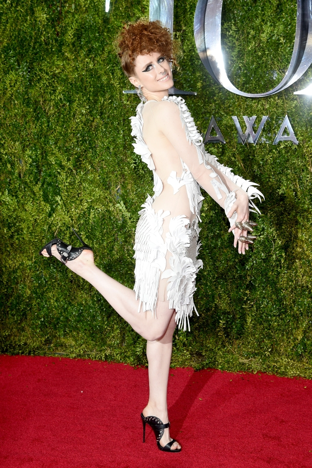 NEW YORK, NY - JUNE 07: Kiesza attends the 2015 Tony Awards  at Radio City Music Hall on June 7, 2015 in New York City.  (Photo by Dimitrios Kambouris/Getty Images for Tony Awards Productions)
