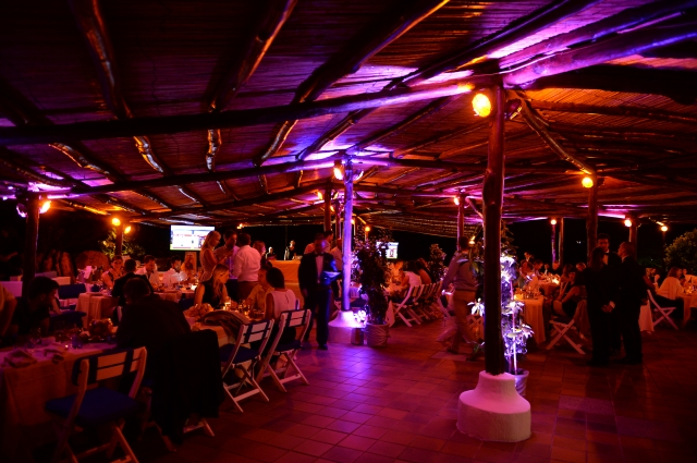 OLBIA, SARDINIA - JUNE 26:  The Welcome Dinner presented by Autism Rocks prior to The Costa Smeralda Invitational Golf Tournament at Pevero Golf Club, Costa Smeralda on June 26, 2015 in Olbia, Italy.  (Photo by Tony Marshall/Getty Images for ProSport)