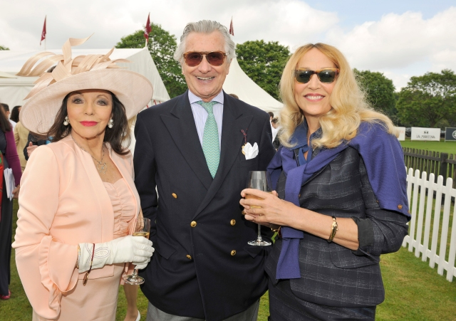 Dame_Joan_Collins,_Mr_Arnaud_Bamberger_and_Miss_Jerry_Hall