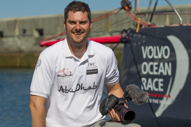 PORTUGAL, Cascais, 20th June 2014. Abu Dhabi Ocean Racing. Matt Knighton, OBR.
