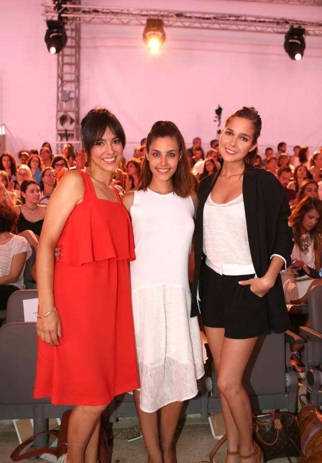 2- Cristina Brondo , Aida Flix y Natália Sánchez