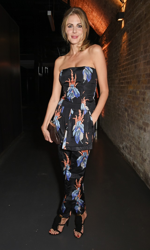 LONDON, ENGLAND - JULY 23:  Donna Air attends the Amazon Fashion Photography Studio launch party, which opened on July 23, 2015 in London, England.  Guest of honour was Suki Waterhouse, Amazon Fashion face for AW15 and special guest DJ, Jack Guinness.  (Photo by David M. Benett/Dave Benett/Getty Images for Amazon Fashion) *** Local Caption *** Donna Air
