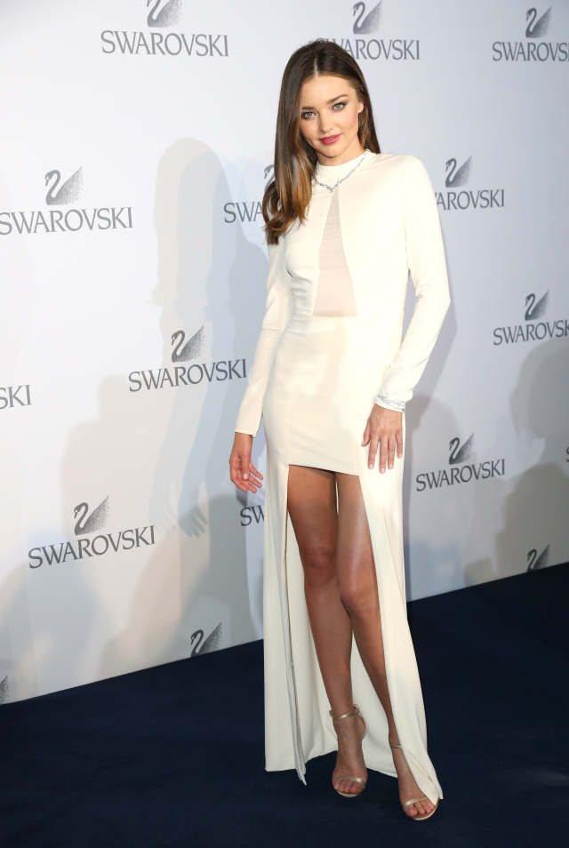 WATTENS, AUSTRIA - JULY 02: Miranda Kerr during the Swarovski new collection launch event on July 2, 2015 in Wattens, Austria. (Photo by Gisela Schober/Getty Images for Swarovski)