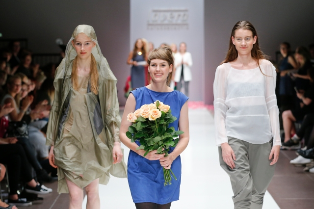 BERLIN, GERMANY - JULY 09: Ina Budde attends the Lavera Showfloor At Mercedes-Benz Fashion Week Berlin Spring/Summer 2016 on July 09, 2015 in Berlin, Germany. (Photo by Franziska Krug/Getty Images for Lavera Showfloor July 2015)