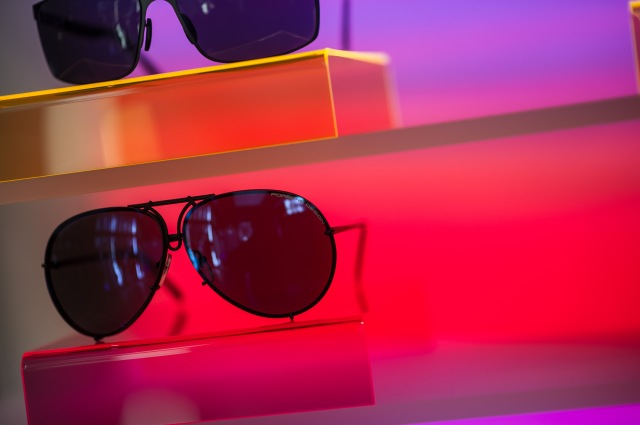 BERLIN, GERMANY - JUNE 06:  A general view of  the Porsche Design Launches Capture Collection by Chester Bennington at Design Haus on June 6, 2014 in Berlin, Germany.  (Photo by Timur Emek/Getty Images)
