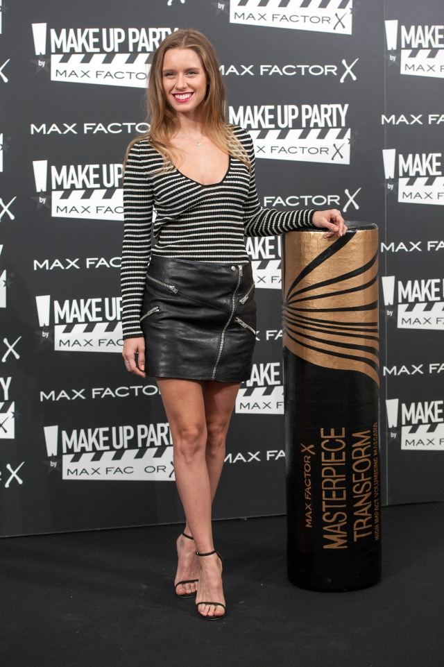 Manuela Vell+®s Max Factor Make Up Party