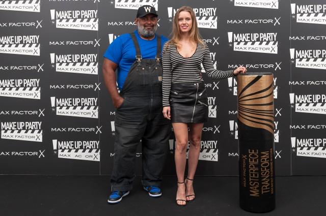 Manuela Vell+®s_Lewis Amarante Max Factor Make Up Party
