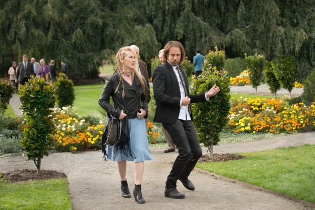 Ricki (Meryl Streep) and Greg (Rick Springfield) in TriStar Pictures' RICKI AND THE FLASH.