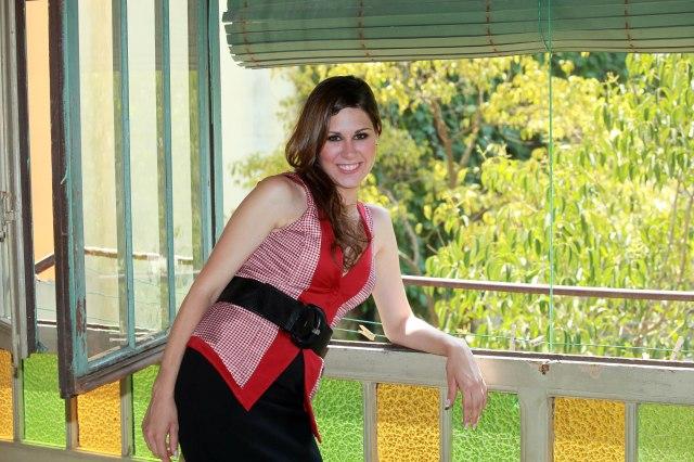 La cantante Tamara durante el rodaje del video de su último disco en Barcelona. Fotos Maria José Rasero