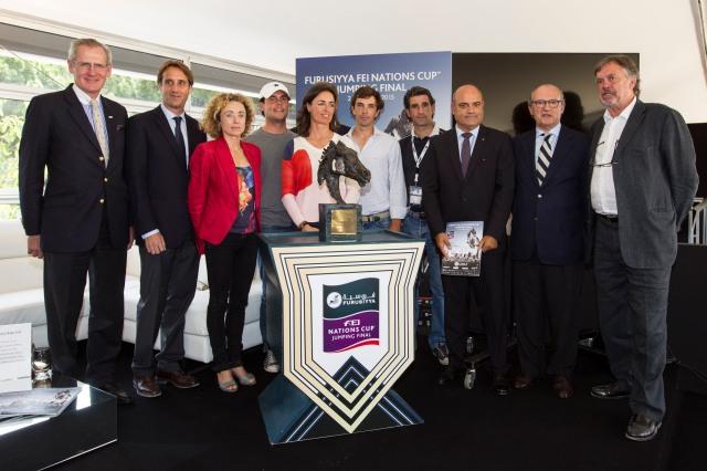 CSIO Barcelona 2015 - Presentación Oficial 1
