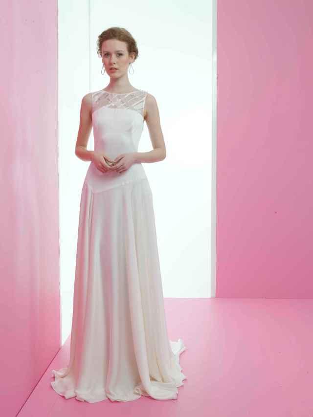 Hermosa Vestidos De Novia Para Personas Caen 2014 Ideas - Ideas de ...