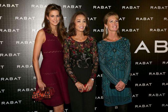 Isabel Preysler y Eva Palao