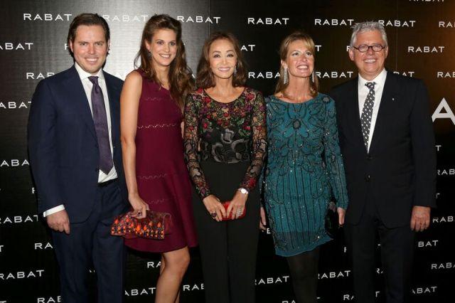 Rabat familia con Isabel Preysler