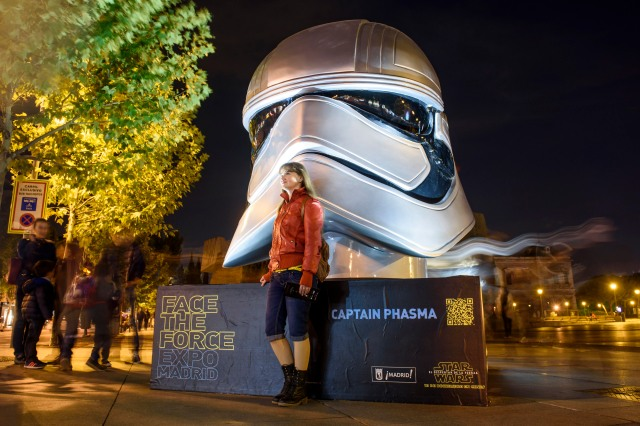 Exposicion Face The Force Madrid - Plaza de Colon - Captain Phasma
