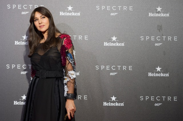 Monica Belluci attend the SPECTRE Premier in Madrid - Spain