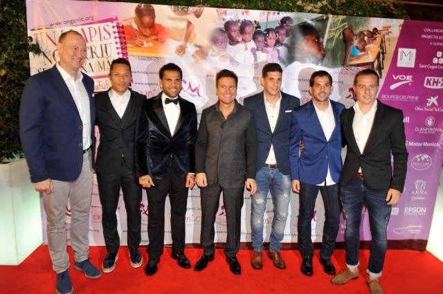 Pedro, Adriano, Dani, Ivan, Javi, Victor, Abraham