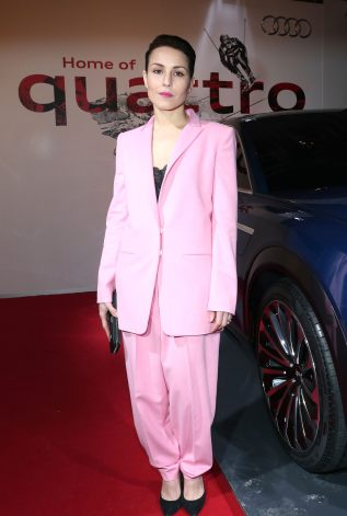 KITZBUEHEL, AUSTRIA - JANUARY 22: Noomi Rapace attends the AUDI Night 2016 during Hahnenkamm Race Weekend on January 22, 2016 in Kitzbuehel, Austria. (Photo by Gisela Schober/Getty Images)